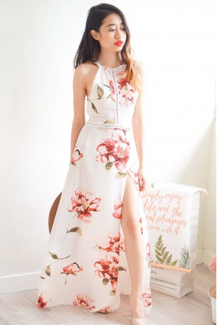 Glory Night Floral Maxi Dress