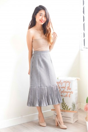 Love at Second Sight Gingham Skirt