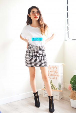 Your Reflections Holographic Tee