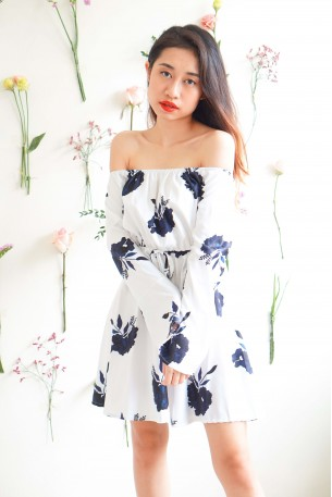 Blame Our Love Floral Dress