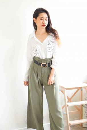 (BACKORDER) March On Soldier High Waisted Pants