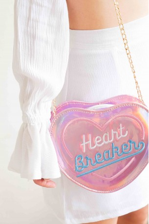 Heartbreaker Holographic Sling Bag