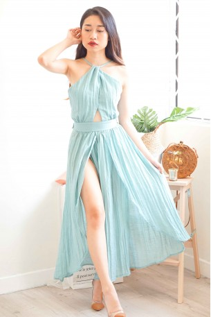 (BACKORDER) Sheerest Dreams Turquoise Maxi