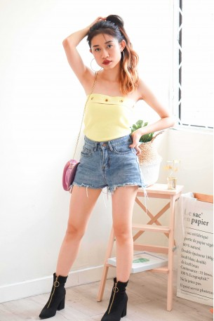 Resistance Leader Yellow Ring Tube Top