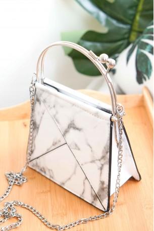 LOUELLA Marble Bag