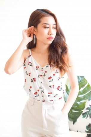 Cherry On Cake Camisole Top