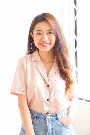 (BACKORDER) Simple Minded Pink Button Down Top