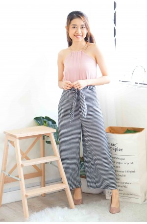Play It Cool Gingham Culottes