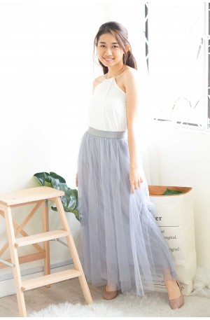 Fairy Dreams Grey Tulle Skirt