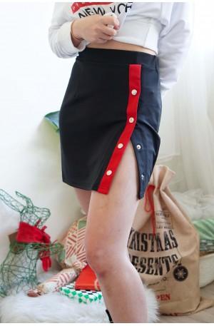 Not Your Girl Button Skirt