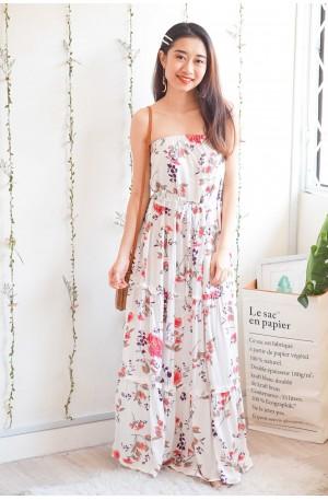Dream Catchers Floral Tube Maxi Dress