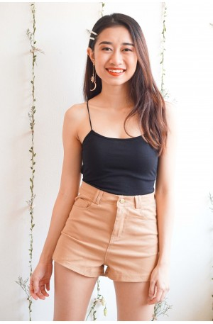 Legs For Days High Waisted Pants in Mustard Brown