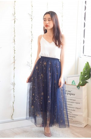 Fault In Our Stars Midi Mesh Skirt