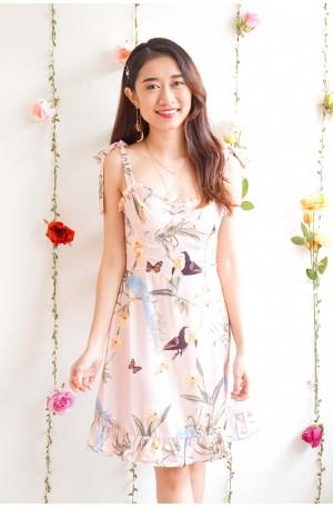 (BACKORDER) Garden Angels Pink Floral Dress