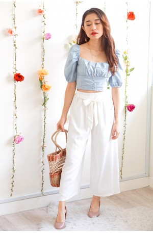 (BACKORDER) Kiss The Snow White Culottes
