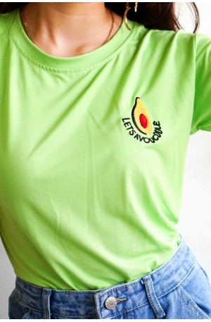 Avo Date Green T-Shirt