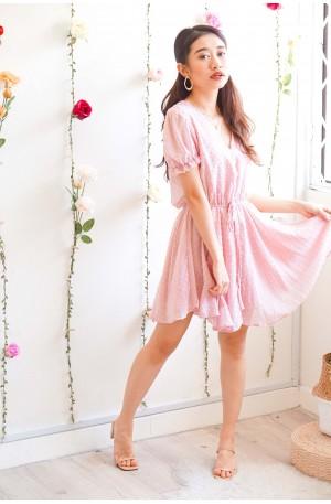 Dash of Summer Pink Jumpsuit