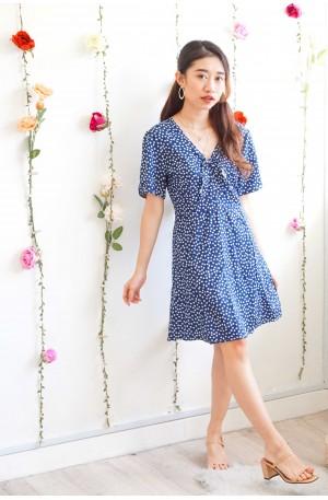 Sweet Trouble Floral Dress in Blue