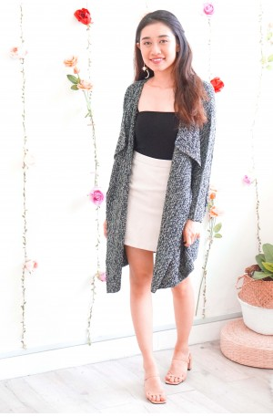 Favourite Chapter Grey Knit Cardigan