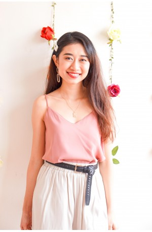 (BACKORDER) Simple Joy Camisole in Pink