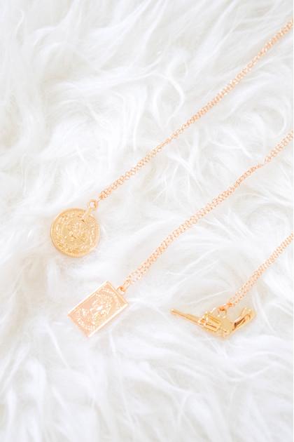 Rosa Contemporary Necklace