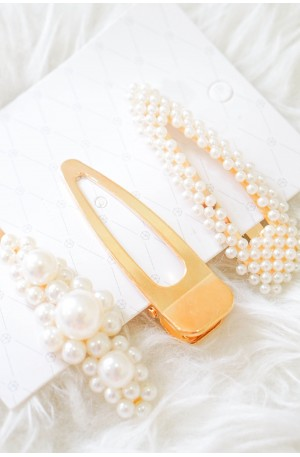 (BACKORDER) Golden Milkway Hair Clips (Set of 3)