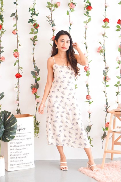 Summer Fling Floral Midi Dress