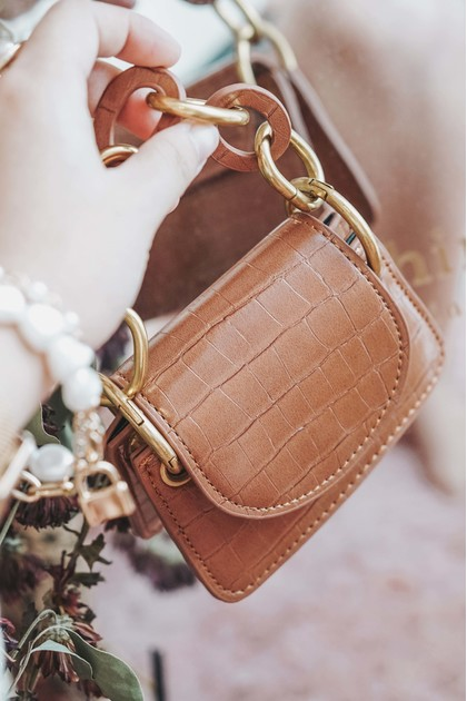 SMOL // OUI Mini Bag in Brown