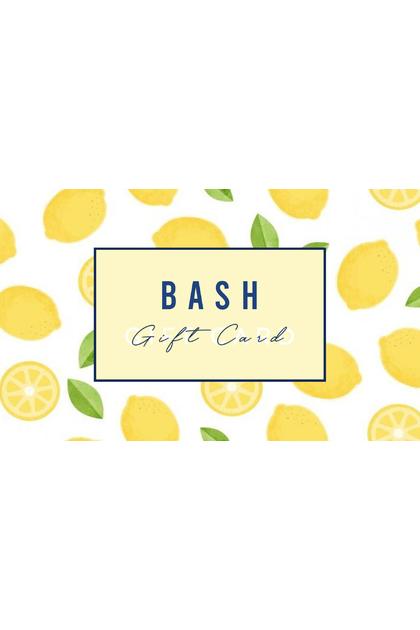 BASH GIFT CARD