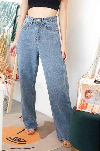All Legs Wide Legged Jeans in Blue