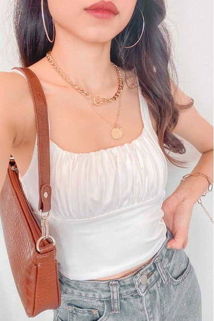 Locked Away Layered Necklace