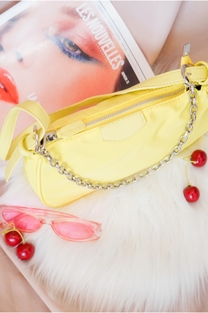 (BACKORDER) SMOL // Live in Bold Bag in Neon Yellow