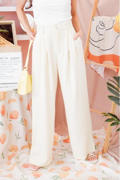 Garden Skyline Pants in Cream