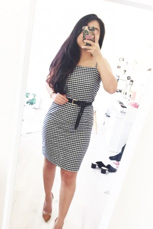 Plain Jane Gingham Dress