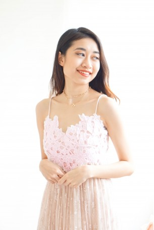 What Lovers Do Lace Crochet Top in Light Pink