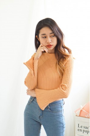 Keep It Personal Nude Knit Top