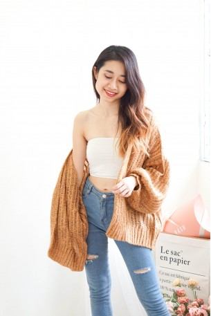 Cozy Up Thick Knitted Cardigan